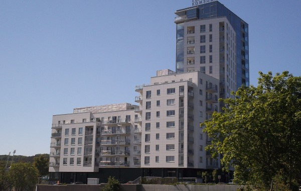 Residential, retail and office building ALTUS in Gdynia (2011-2013)