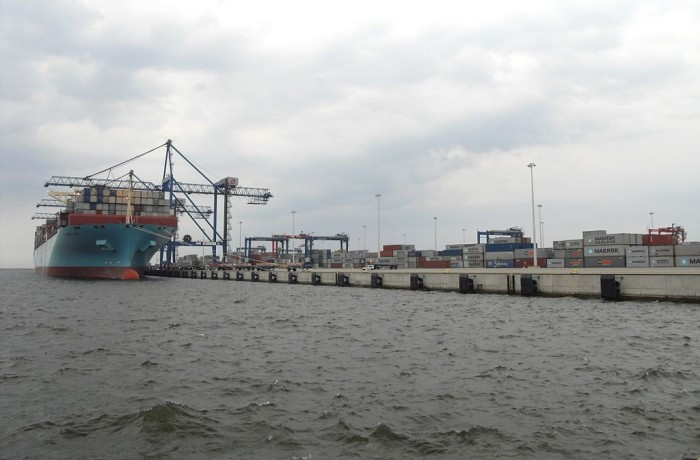 Container Base of the Port of Gdansk (2007)
