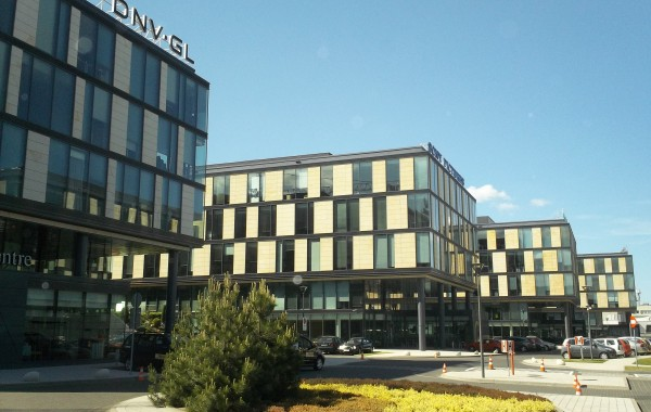 6 office buildings LUZYCKA OFFICE PARK in Gdynia (2008-2014)